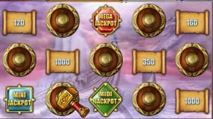 bonus spel hall of gods
