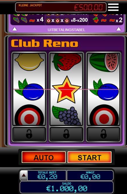 gokkast club reno